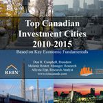 Top Canadian Cities For Investment 2010 – 2015